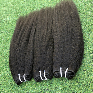 YOODY new hairstyle yaki hair kinky straight black hair extension weft