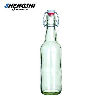 500ml Clear Glass 16oz Kombucha Swing Top Beer Bottle Buy