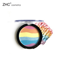 CC30469 High quality colorful 6 colors rainbow glitter eyeshadow private label
