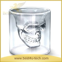 Unique Design Skull Cup Wine Glass Cup for Whisky