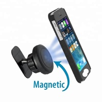 Hot-selling Universal Stick On Dashboard Magnetic Car Mount Holder for Cell Phones and Mini Tablets with Fast Swift-snap