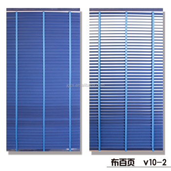 Printed 50mm Cloth Venetian Blind For Home Decoration Of