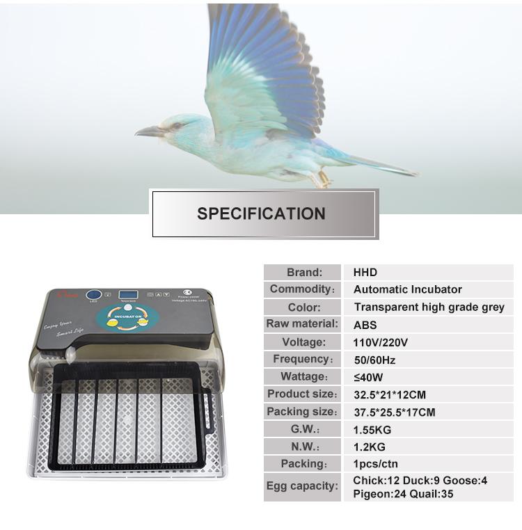 Promozione di vendita calda incubatrice CE approvato automatica articoli da regalo