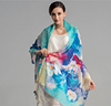 Factory Silk Chiffon Long Shawl Printing