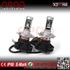 High power led car headlight kit, 6000lm 50w led car headlight kit