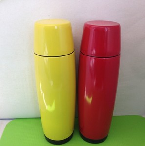 Thermal drinking flask/ food grade vacuum flask/ color coated vacuum flask