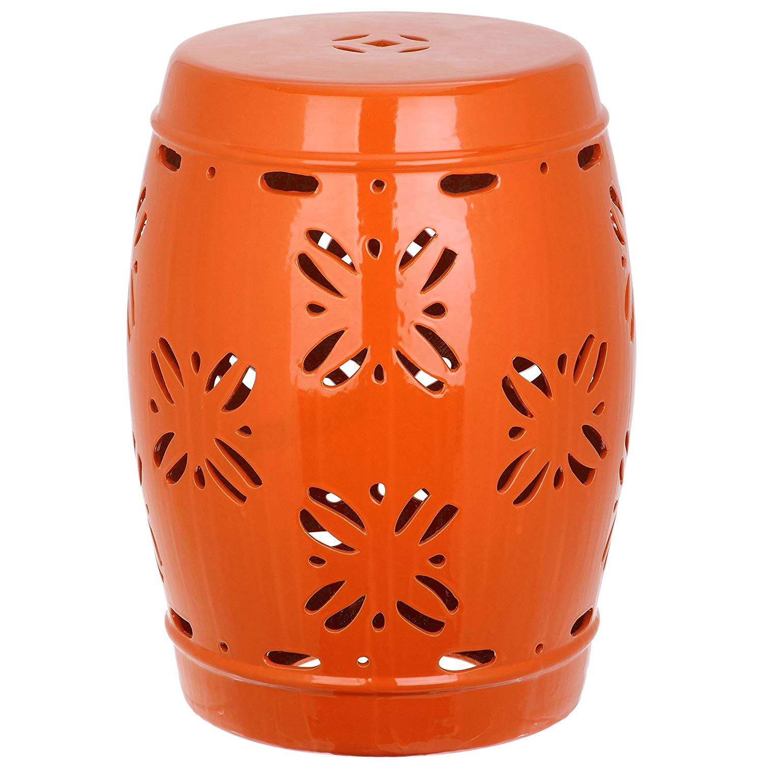 Pleasing Cheap Orange Garden Stool Find Orange Garden Stool Deals On Lamtechconsult Wood Chair Design Ideas Lamtechconsultcom