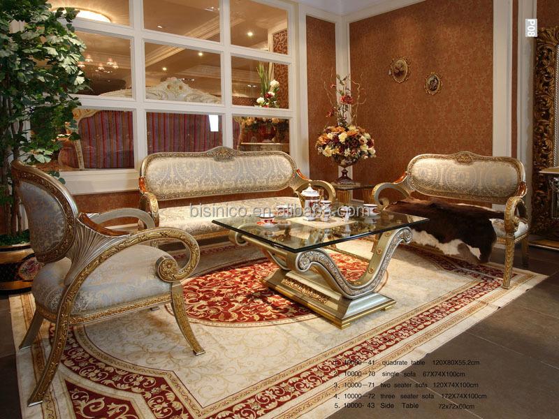 Luxus franz sisch barock goldenen holz geschnitzt - Wohnzimmer franzosisch ...