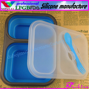 PP microwave disposable containers/silicone collapsible bowl/chinese lunch box