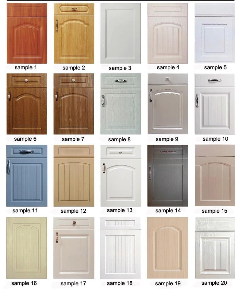 Pvc Kitchen Cabinet Doors: Pvc White Melamine Kitchen Cabinet Door