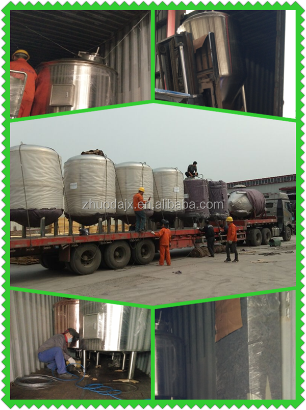 100L&200L stinless steel brewery brewing equipment industry