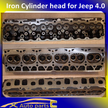Iron Heap Jeep Cylinder Head For Jeep 4.0 Cylidner Head