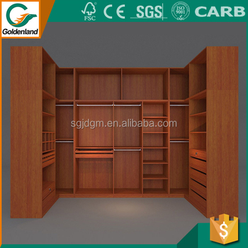 Canvas Clothes Closets Wardrobe/laminated Plywood Wardrobe