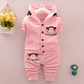 baby clothing set autumn 2016 new boy and girl 0 4 years baby coat pants two