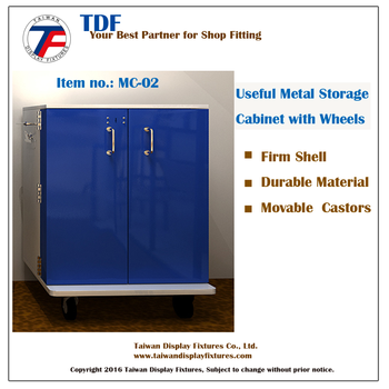 Office Furniture|Metal Storage Cabinet with Wheels