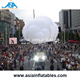4m Inflatable Cloud , Hanging LED Lighting Inflatable Cloud for Party Stage Decoration