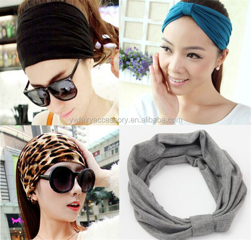 Multi Style Fitness Headband Ear Warmer Yoga Head band Girls Turban Headband 7ce3c14db41