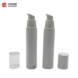 Foundation Packing Plastic Airless Pump Facial Cleanser Lotion Tube With Offset Printing