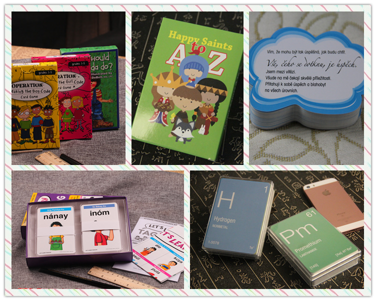High Quality Customized Flash Cards Printing For Math Study With Competitive Price
