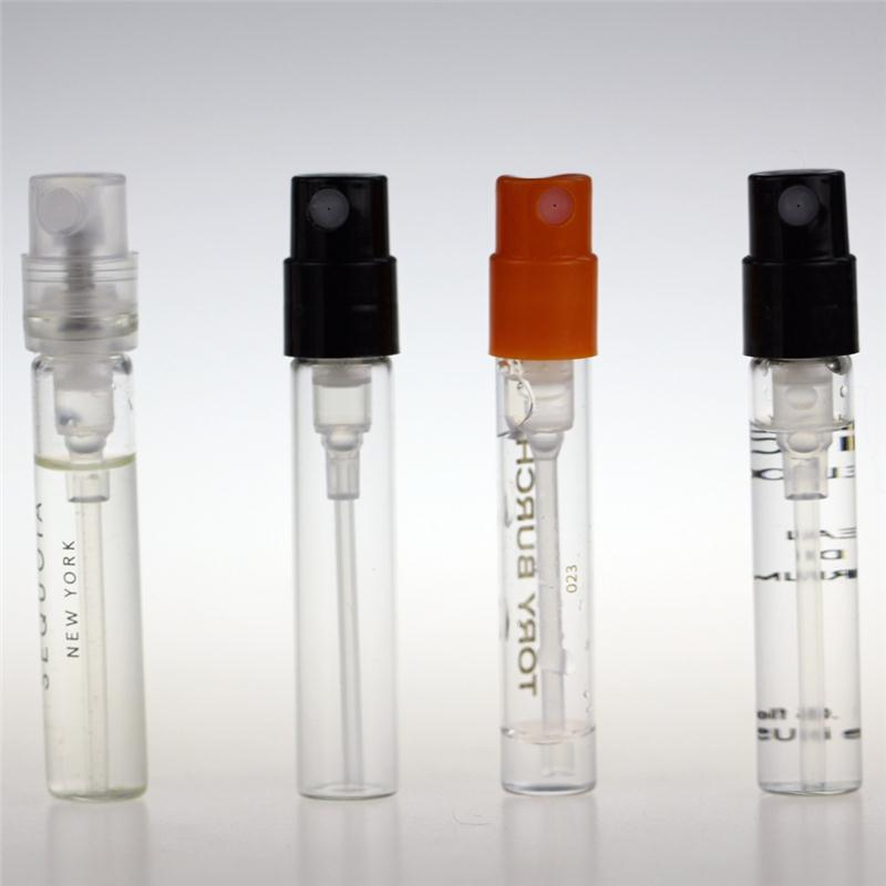 Perfume Trial Bottle Small glass bottle Perfume test bottle 1ml glass vial tube Perfume Tester