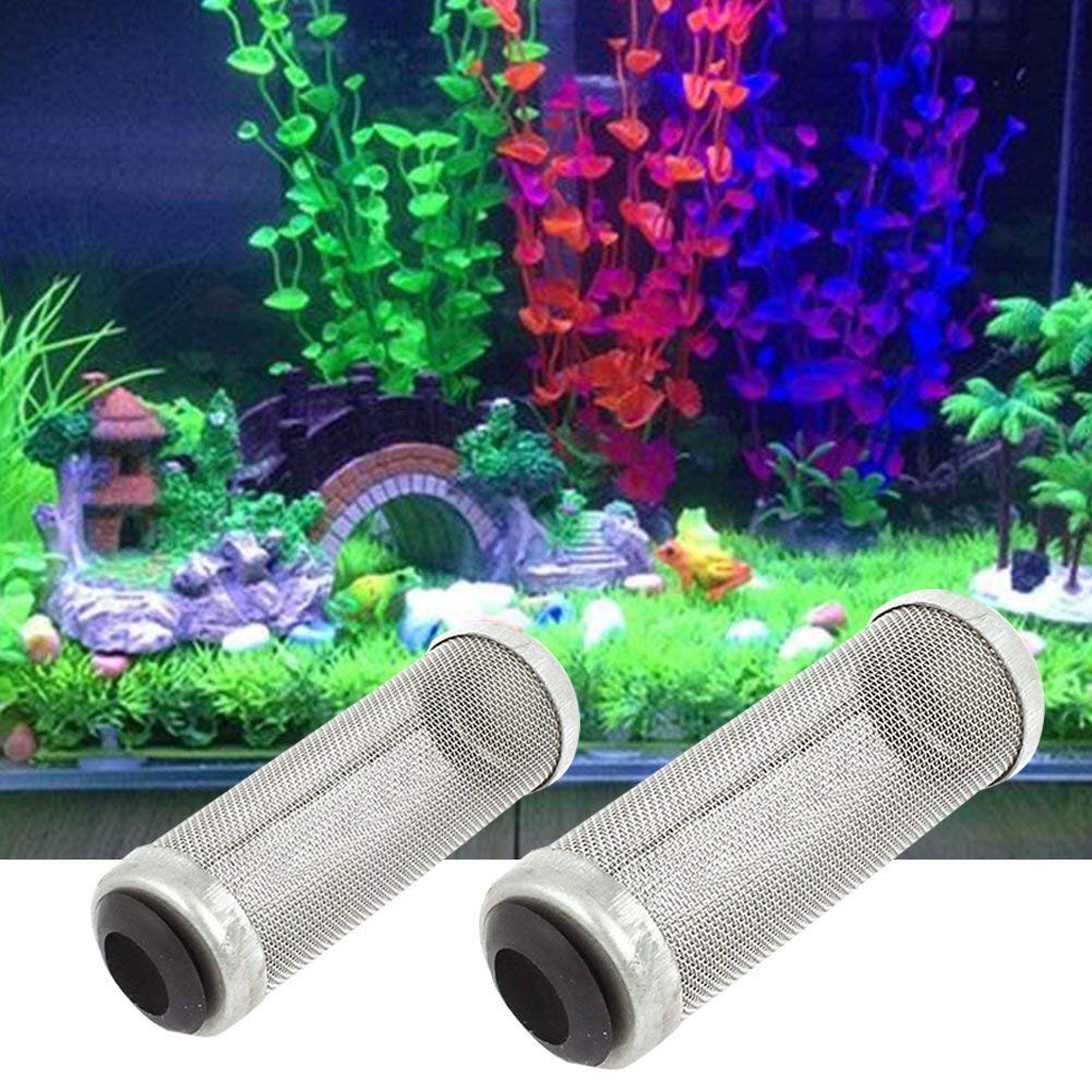 1PCS Aquarium Stainless Steel Metal Filter Tube Woopower Shrimp Guard Protect For Fish Tank (12mm)
