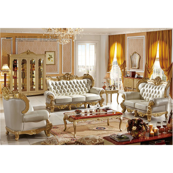 Luxury French Style Living Room Furniture Sofa And Cabinet View Living Room Furniture Cbmmart Product Details From Cbmmart Limited On Alibaba Com