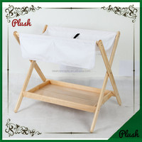 Wood Baby changing table Baby swinging bassinet Baby furniture