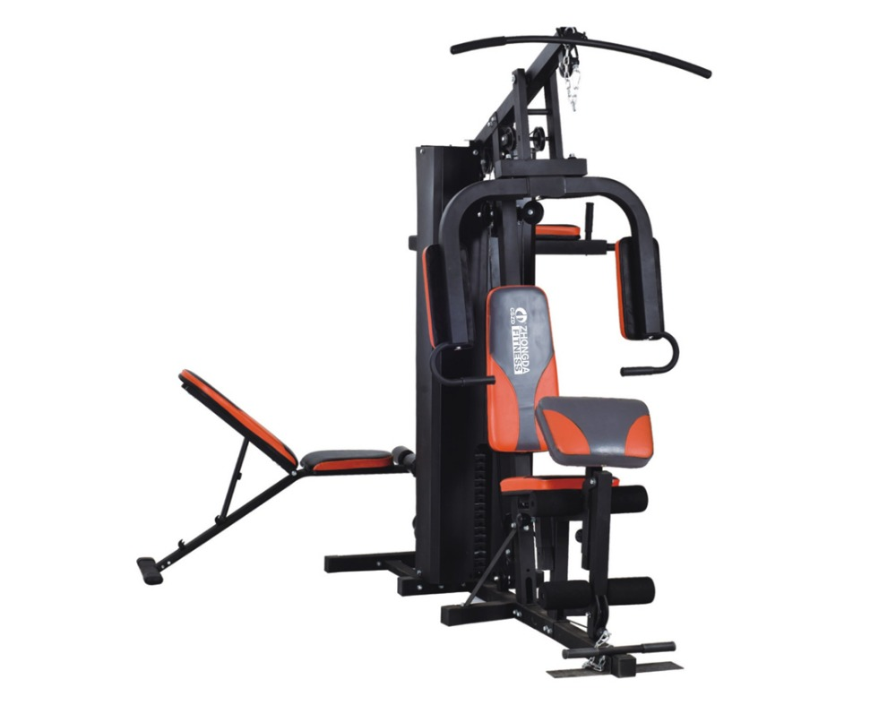 Save 10% folding home gym equipment 4 station home gym