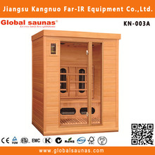 Far infrared wooden wireless speakers adult sauna massage rooms KN-003A