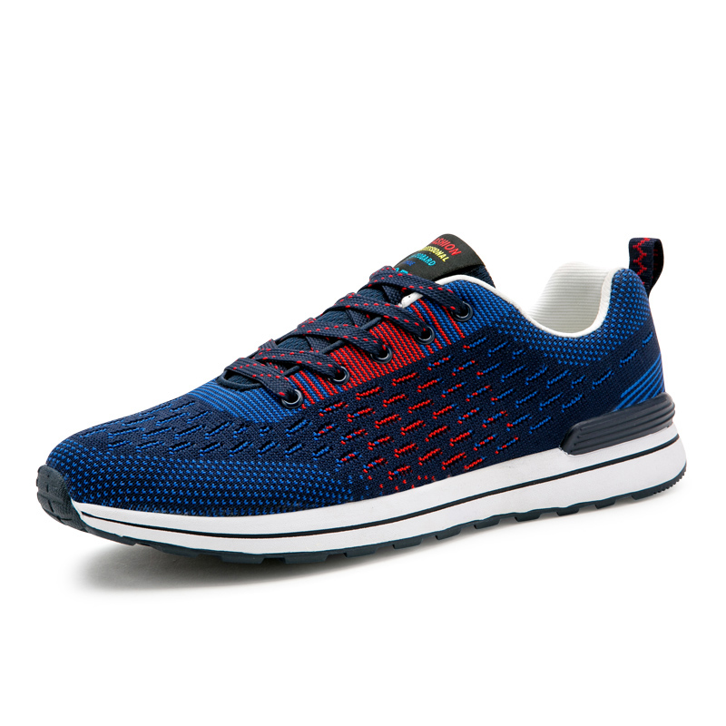 Walking Gym Sport Footwear Men Mesh Shoes For Shoes Breathable Knitting Wholesale Quality Running Fitness Flexible gzaXnw