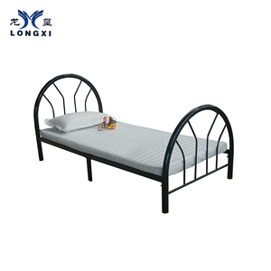 Latest single bed designs single size cot bed cheap metal bed frame