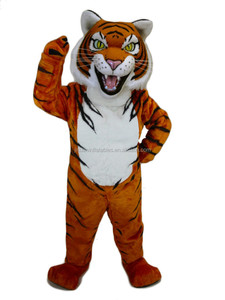 tiger mascot costume,cartoon costume