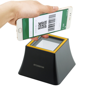 flatbed usb optional rs232 pos qr code scanner for wechat alipay online payment