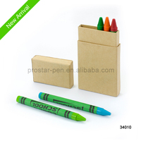 Crayon factory wholesale custom wax crayons in paper box
