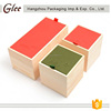 Multi-functional,colorful and cute wooden tea box