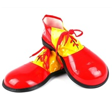 <span class=keywords><strong>Clown</strong></span> d'halloween Cosplay Chaussures Fantaisie Parti Effectuer Fournitures