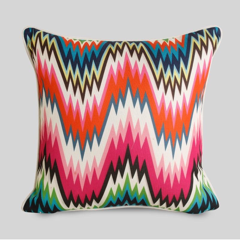multi couleur impression dernires design pas cher kilim housse de coussin - Coussin Color Pas Cher