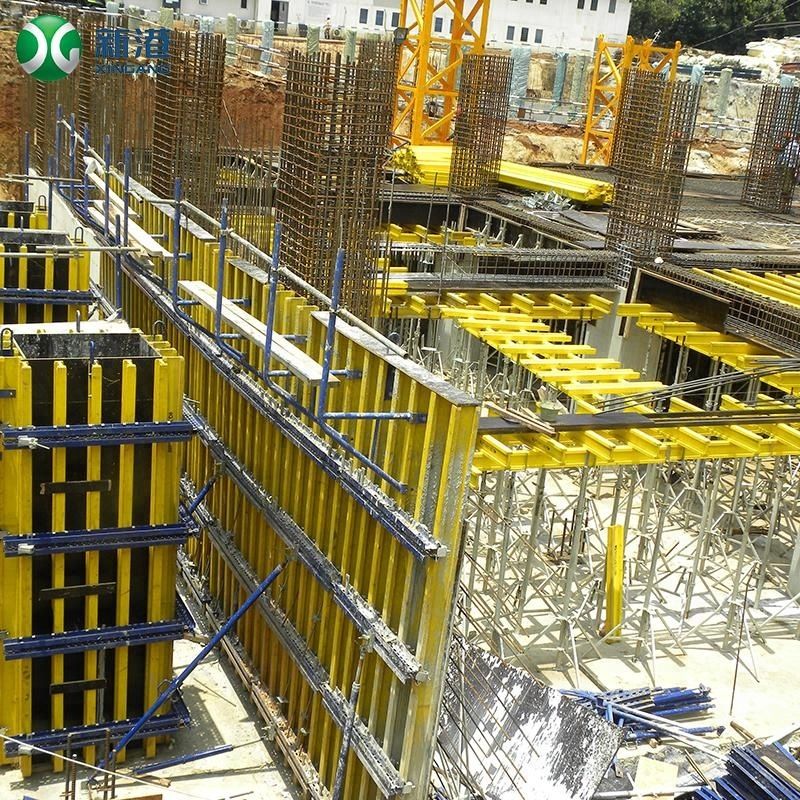Wooden H20 Timber Beam Similar to concrete slab beam formwork and scaffolding