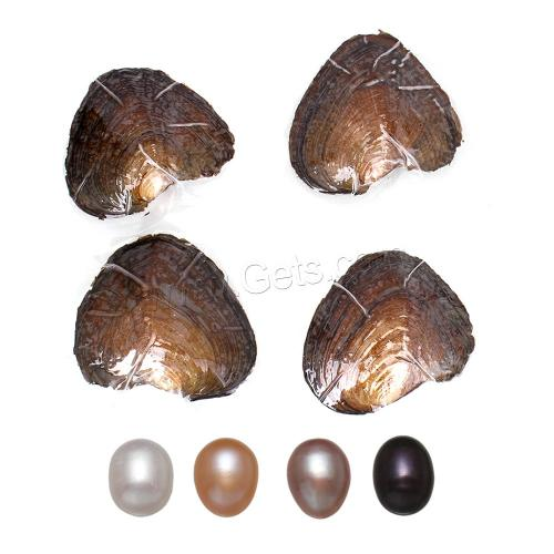 2017 New 7-8mm Rice shape Freshwater Cultured Pearl Oyster with high quality