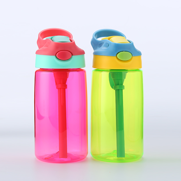 BPA free children plastic sport water bottle tritan 450ml plastic sport water bottles BPA free mug