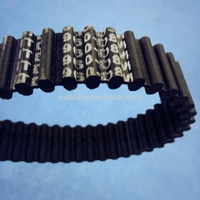 China HTD8M Double Teeth Rubber Conveyor Timing Belt For Sale
