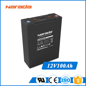Narada Ics Series 12v 100ah Lead Acid Deep Cycle Battery - Buy Narada Ics  Series,Deep Cycle Battery,Lead Acid Battery Product on Alibaba com