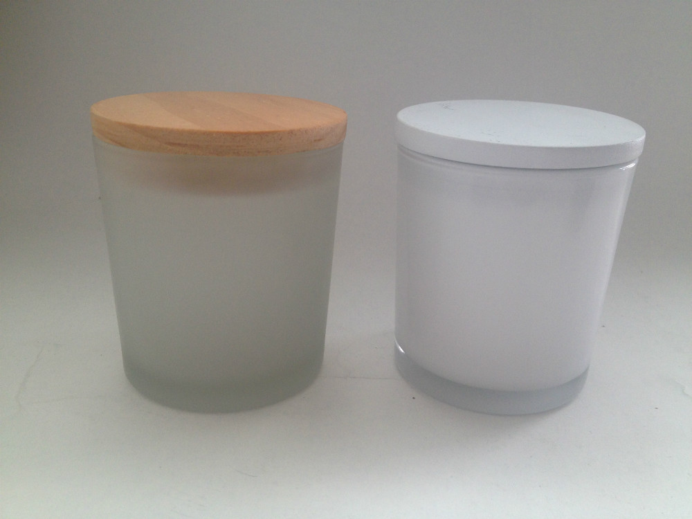 Wholesale White Candle Jar And Different Color Of Candle