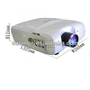 2014 Cheap Hot Newest Intelligent led projector fog lamp Built In Android 4.2 & Wifi Data Entry Projects by Salange