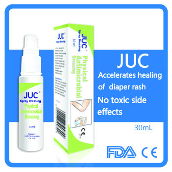 High quality burn scald wounds useful antimicrobial spray for wound care solution