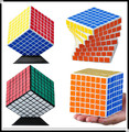 2015 NEW ShengShou Magic Cube Professional PVC Matte Stickers Cubo Magico Puzzle Speed Classic Toys Learning