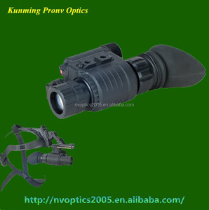 military night vision pvs-14 monocular with helmet waterproof