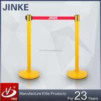 2016 JINKE New crowd control equipment Stands stanchion construction Queue Line Manage for Hotel