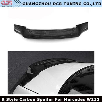 Renntech Style Mercedes Rear Trunk Wing For Mercedes W212 Carbon Spoiler E  Class Sedan 4 Door W212 E63 Carbon Fiber Spoiler - Buy E63 Spoiler,W212