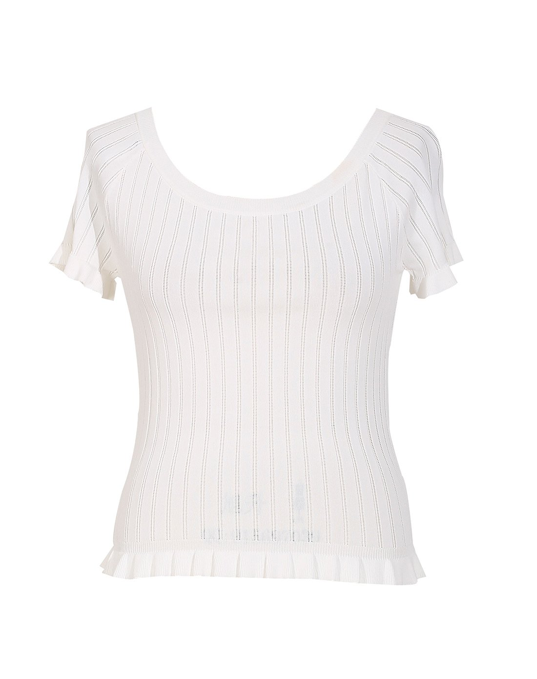 Comfy white short sleeve women tops trendy summer sweaters